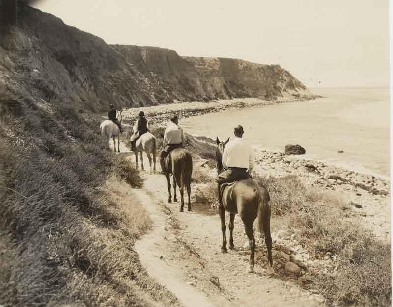 Bluff Cove Horseback Riders Undated