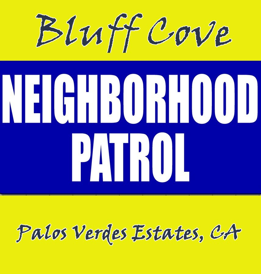 BCHA Neighborhood Patrol Sign