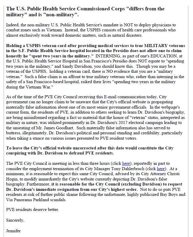 Davidson Sandy BCHA Ltr Page 2 04-05-2019